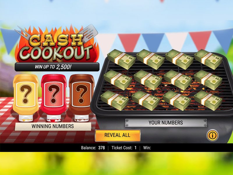 cash cookout slots