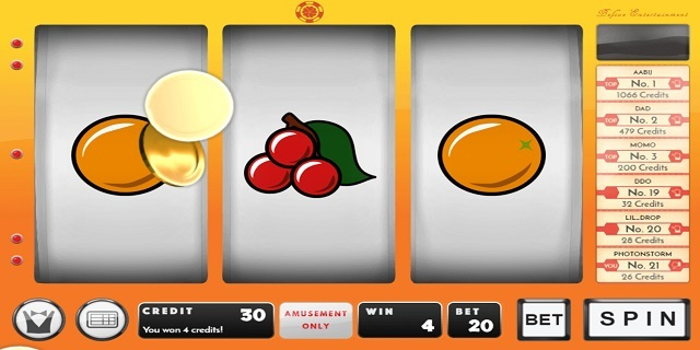 Free Fruit Machine Games with Features