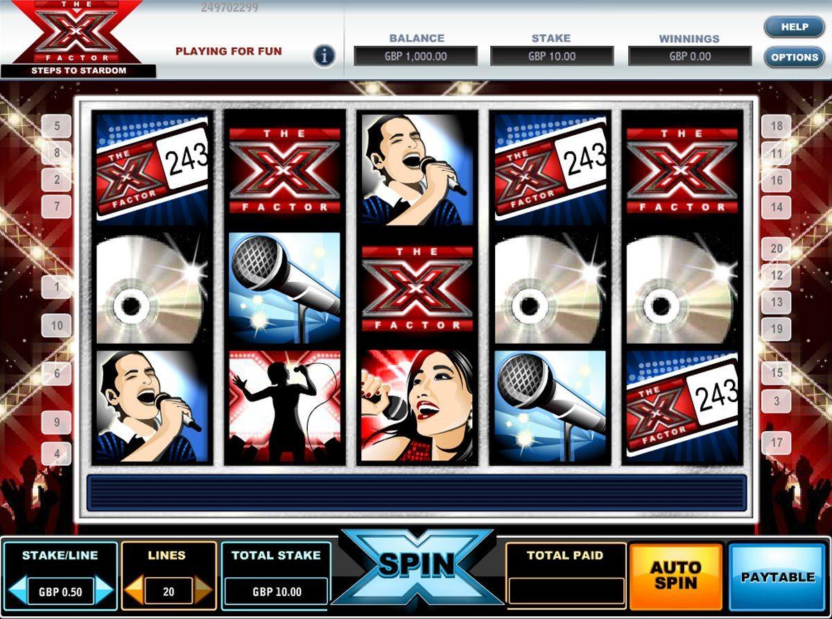 x-factor slot